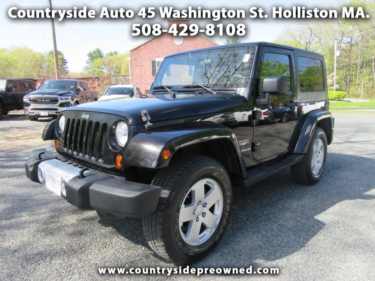 Used 2008 Jeep Wrangler Sahara for Sale in Holliston MA ...
