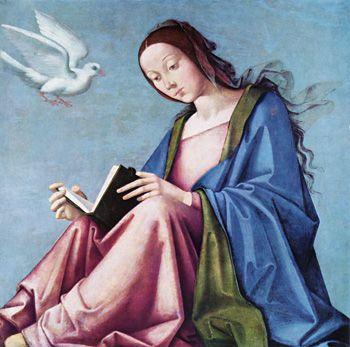 Maria Verkündigung, Lorenzo Costa der Ältere, erstes Drittel des 16 ...