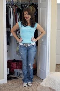 A Sneek Peek Into a Real Live Closet Analysis  Before Photo...check out our blog to see her amazing After looks!