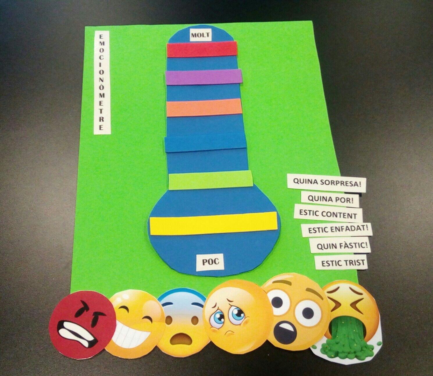 Emocionometro Representar Las Emociones A Modo De Termometro Kindergarten Gaming Logos Logos El termómetro de las 12, el cual se. las emociones