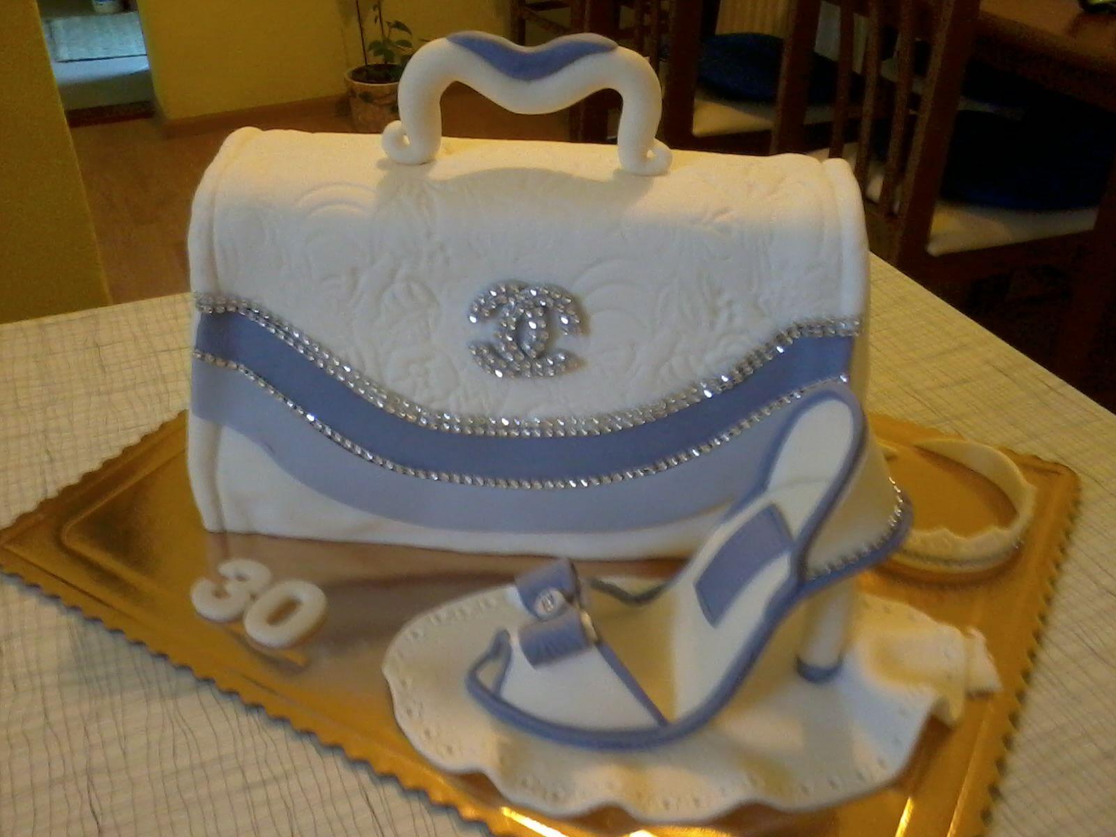Torta - Kabelka s lodičkou