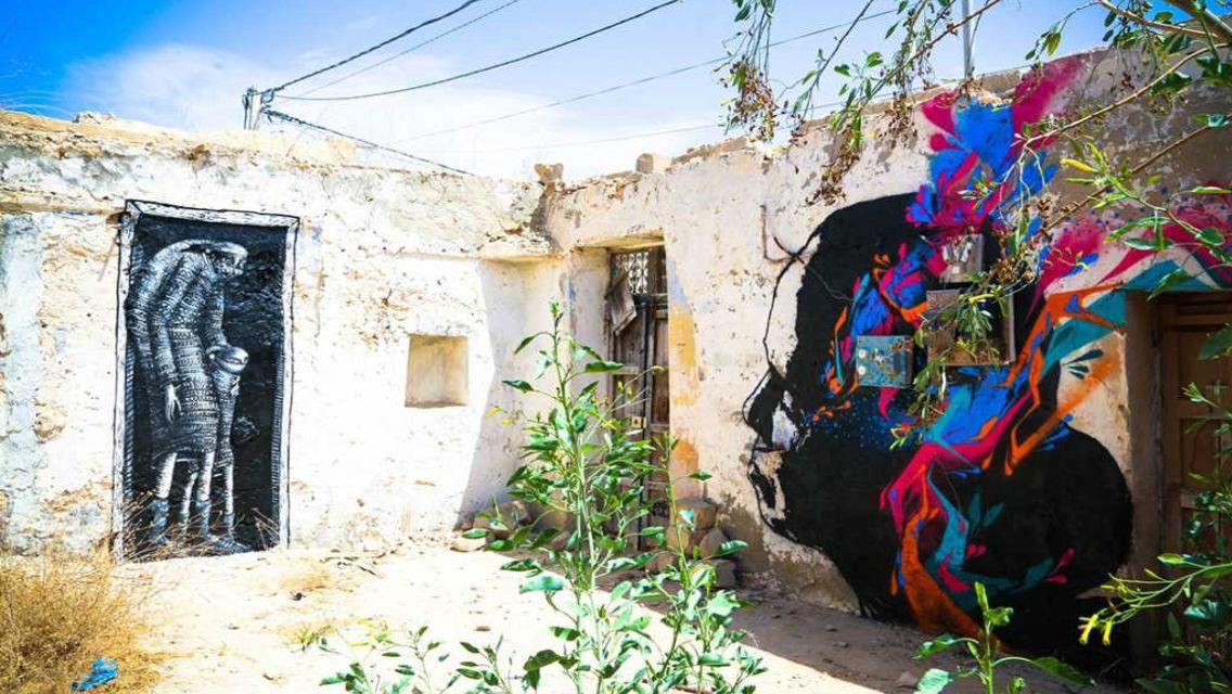 Street art Tunísia