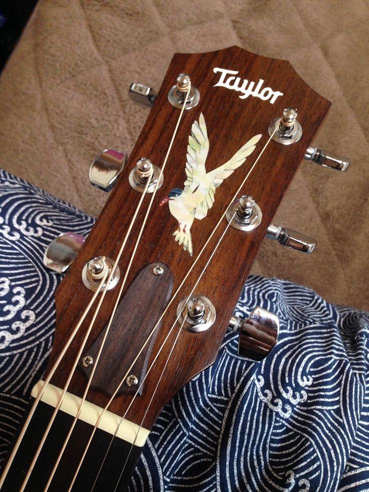 Eagle Inlay Sticker Guitar Headstock 6 95 Amzn To