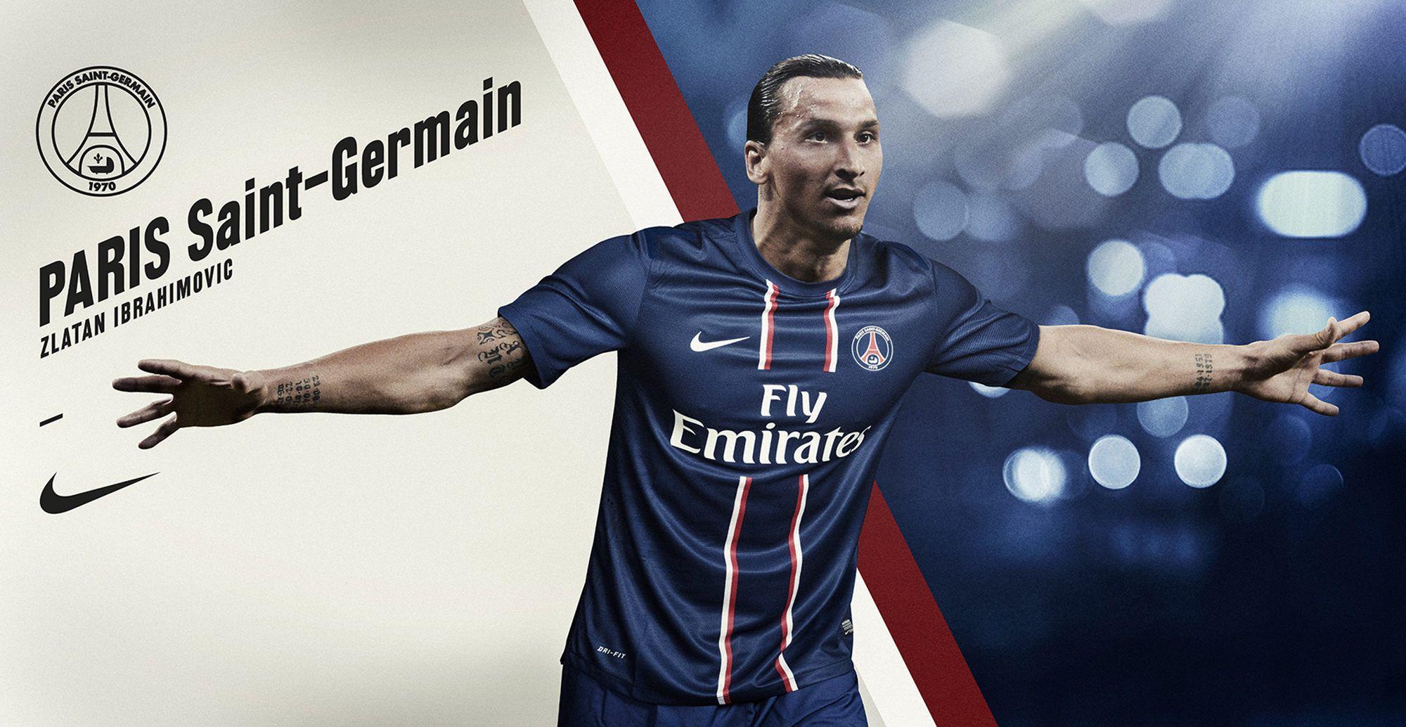 Zlatan Ibrahimovic PSG Wallpapers HD