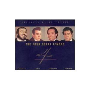 Readers Digest Music the Four Great Tenors [Box set]