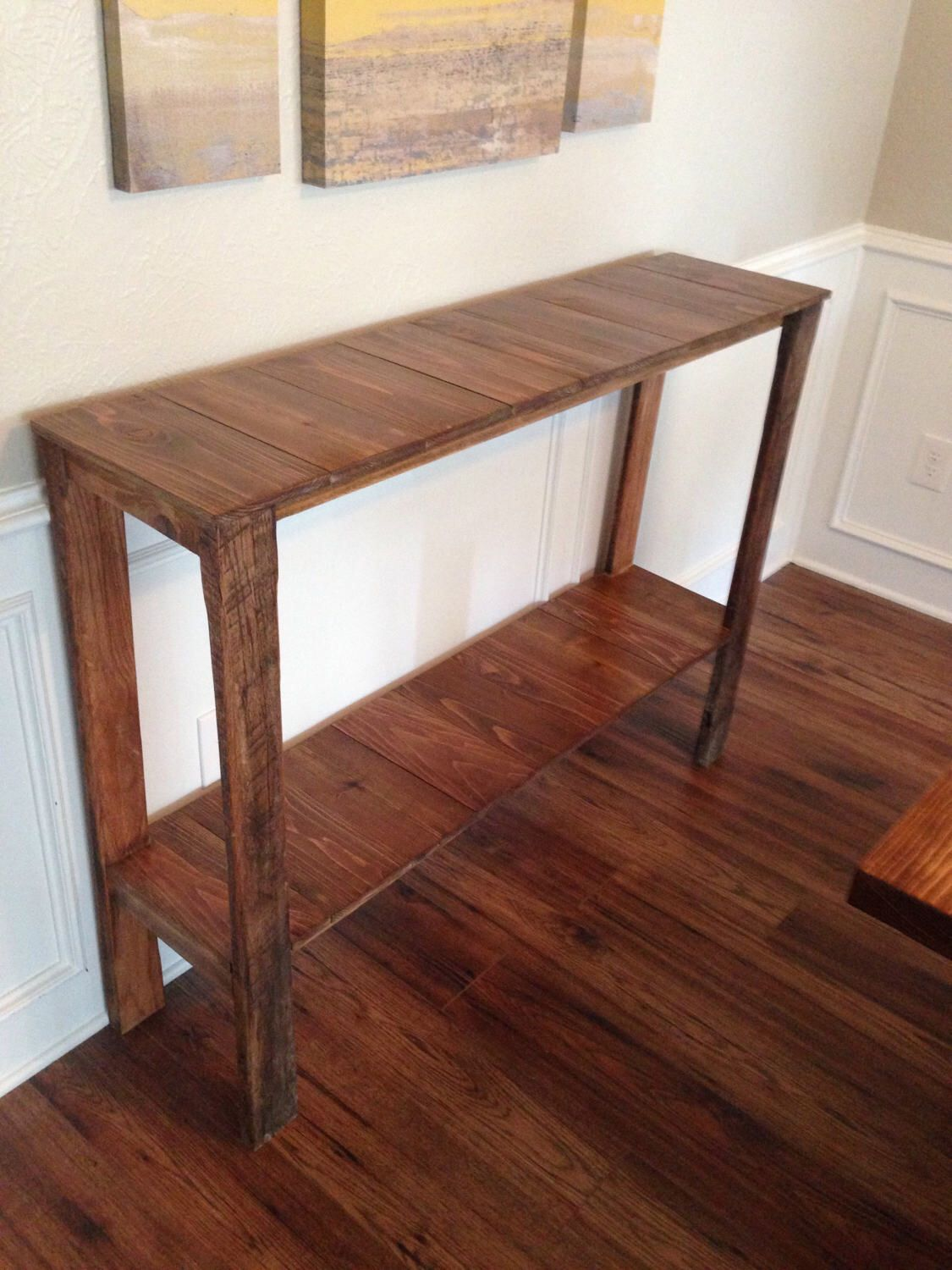 Console Table Dallas Fort Worth Only By Revisionaryelements On Etsy Https Www Etsy Com Listing 517779747 Console Table Dall Table Cedar Table Console Table