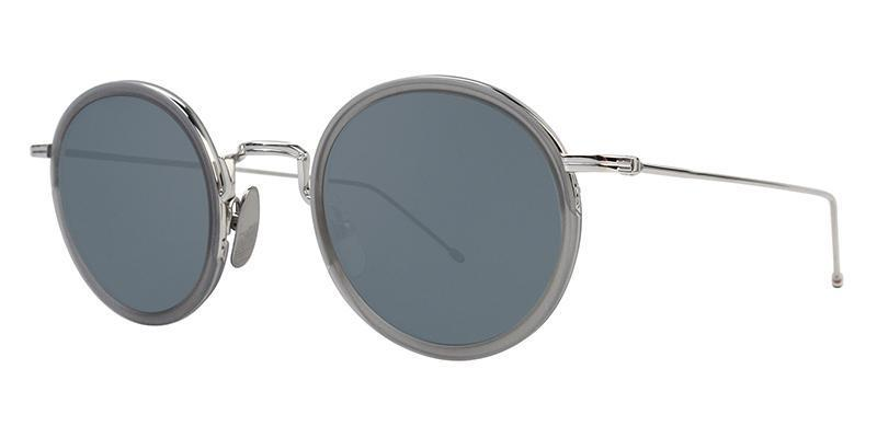 4112ef2c21b Thom Browne - TBS906-46-03 Silver - Gray-sunglasses-Designer Eyes ...
