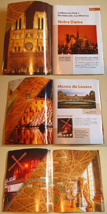 Projeto editorial de criação e diagramação de revista interativa
