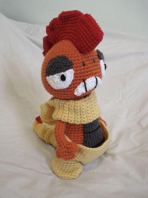 Scrafty Crochet Pokemon | kids toys | Pinterest | Patrones amigurumi ...
