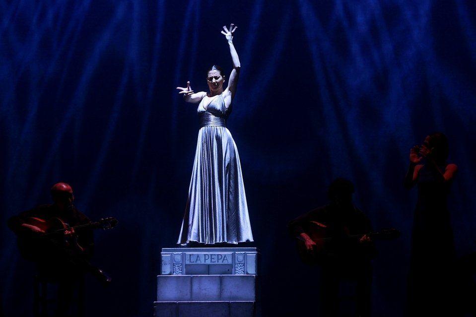 Sara Baras, en el 20 aniversario del Teatre de Sant Cugat