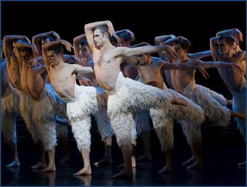 "The Film World is in the midst of a three-dimensional craze, and its latest eye-popping gem is ""Matthew Bourne's Swan Lake"". The film's featured star, Richard Winsor, is something of a startling vision himself."