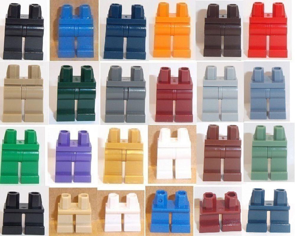 Lego Minifig Legs x 1 Bright Purple