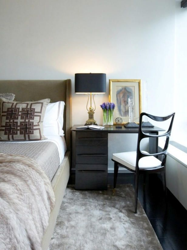 The Master Bedroom Is A Luxurious Retreat That Has A Beautiful Bed