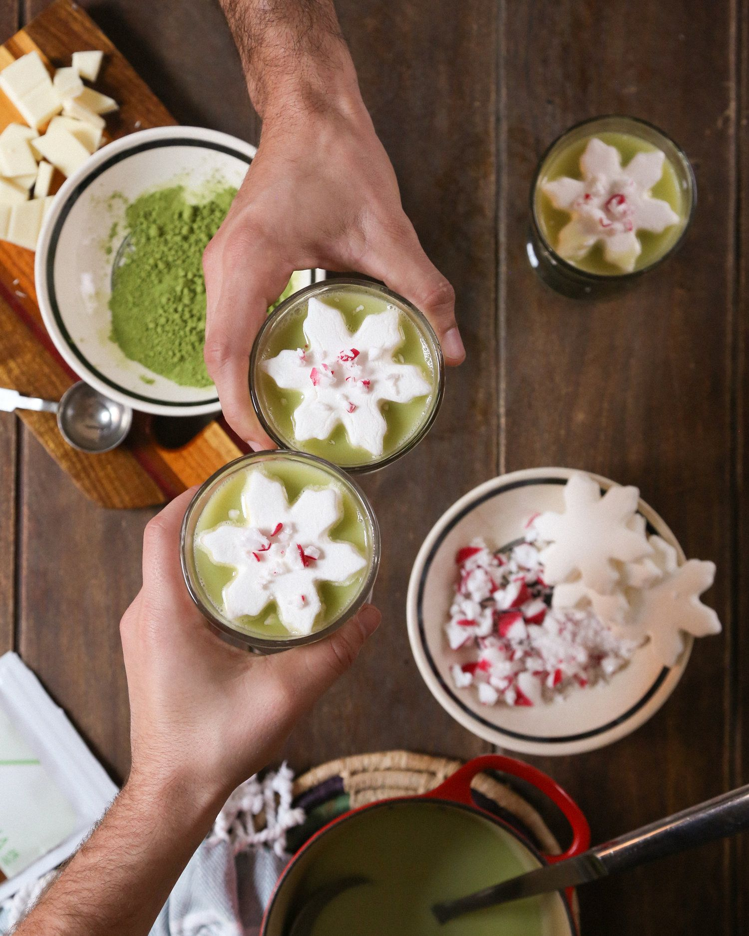 Shaken Iced Almond Milk Matcha Latte (With Images