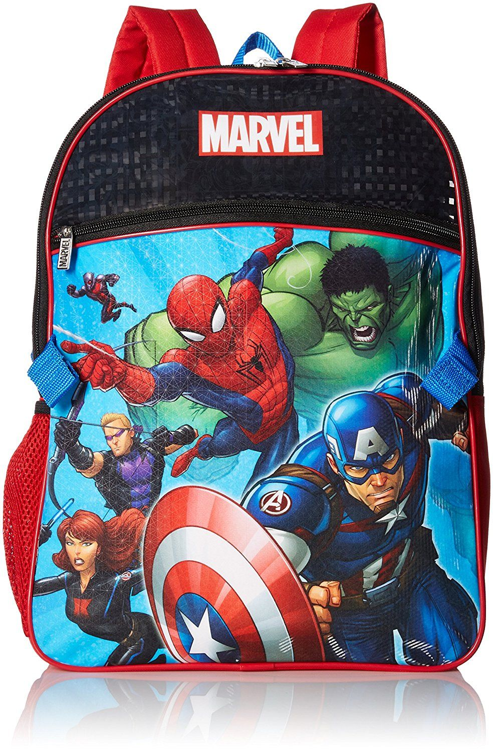 93d7d6d4ac Marvel Boys  Avengers Backpack with Lunch