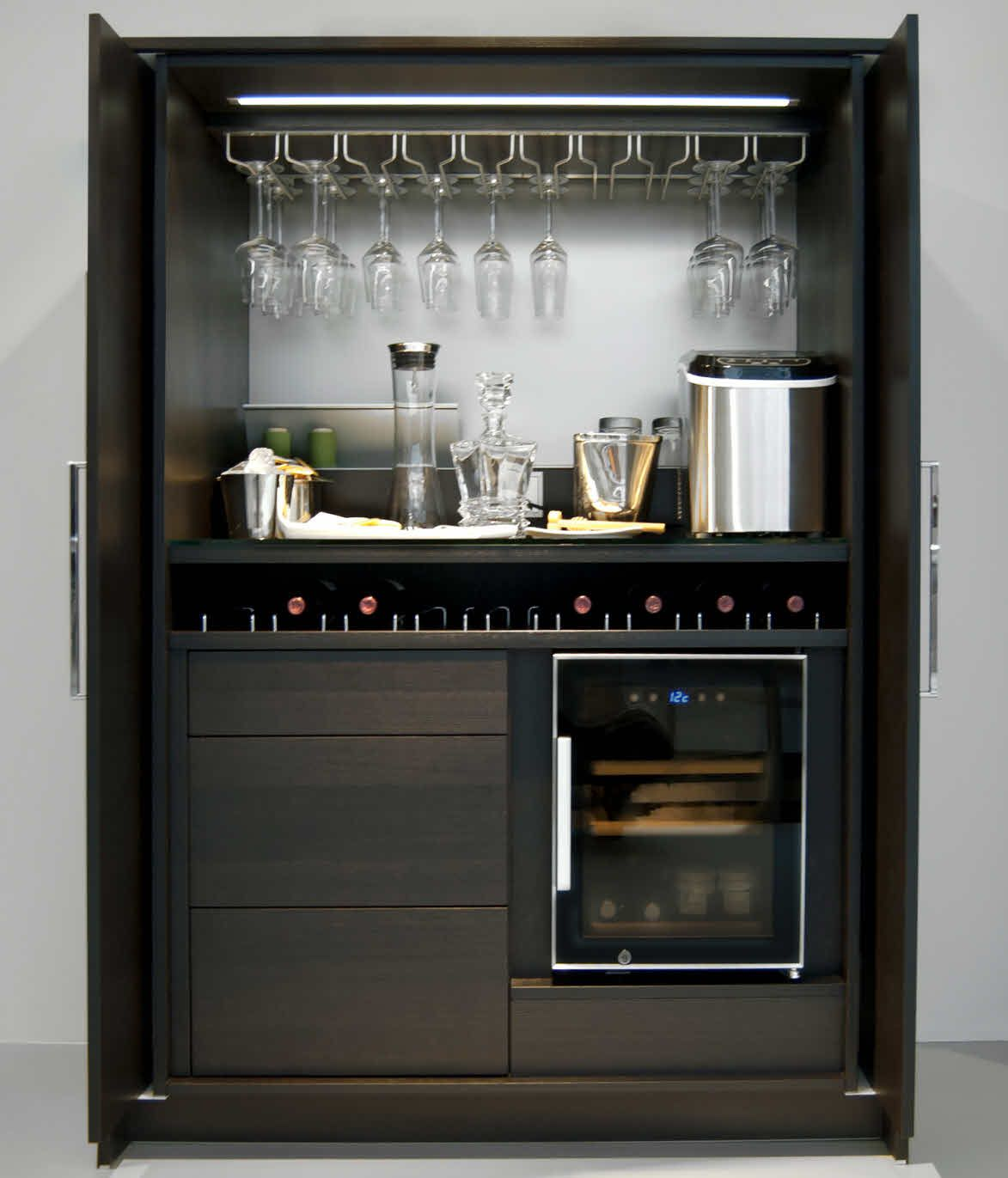 The theme units are equipped with slide-in hinged doors, called ...