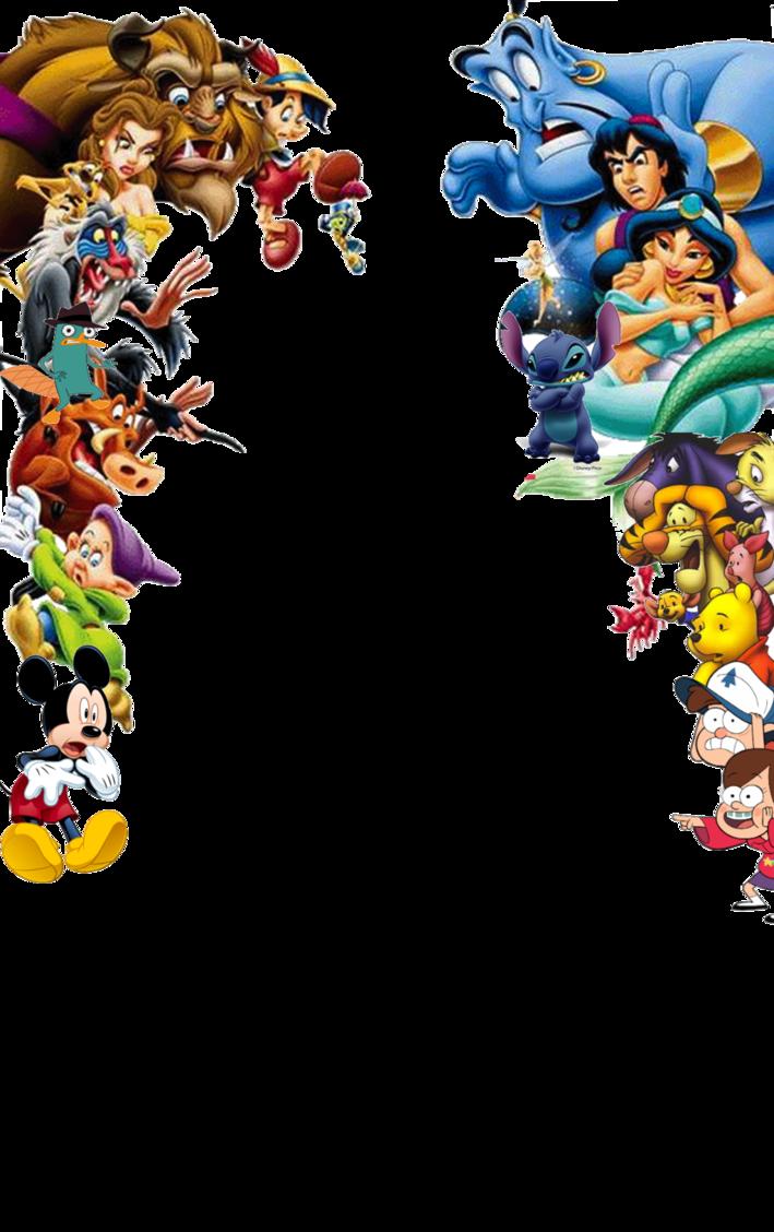 Group Of 6 Cartoon Characters : Disney png pesquisa google cartoons pinterest