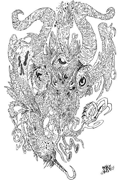 Freekmeet The Art Of Savage Pencil What S On Design Week Art Pencil Design Dark Visions