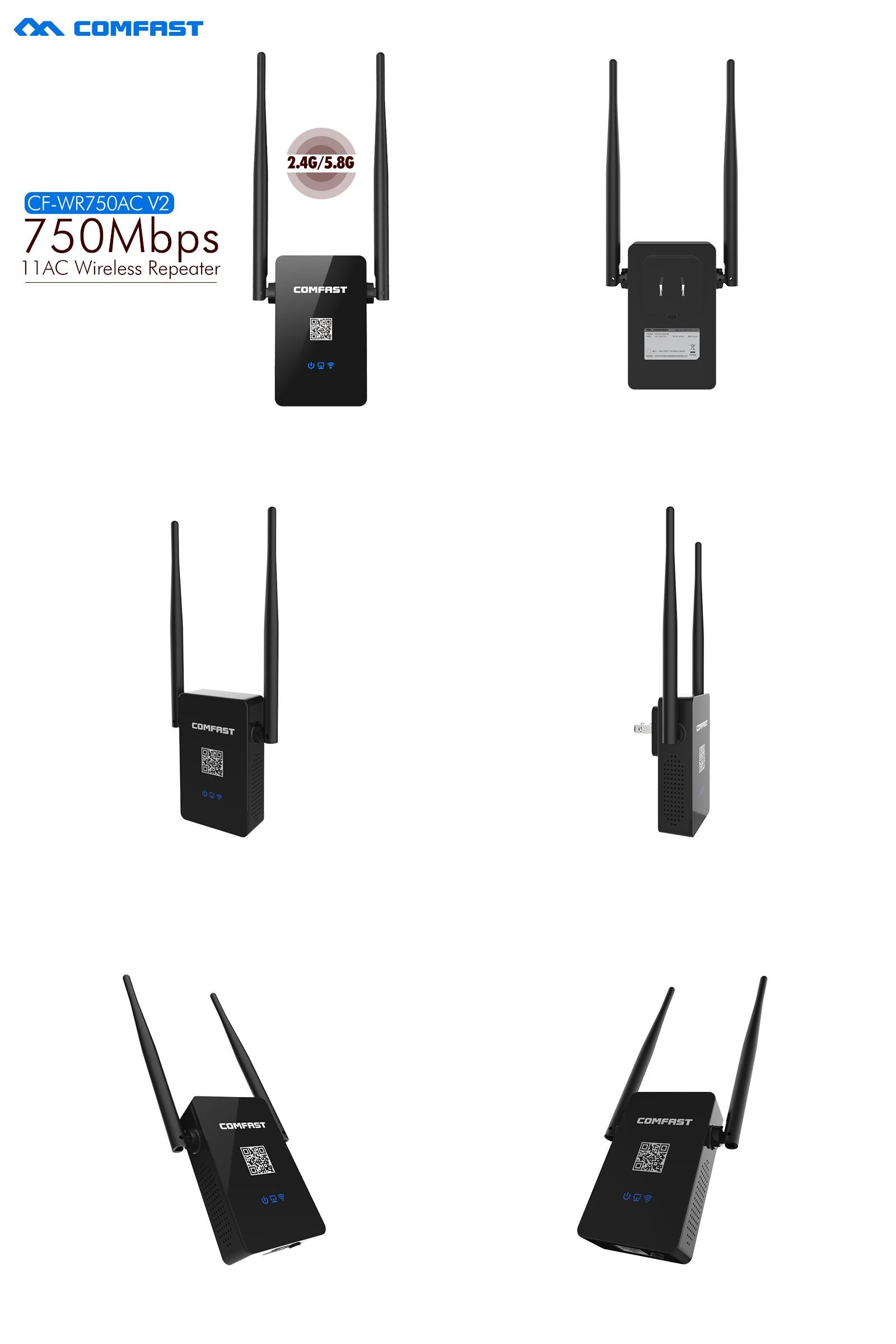 Visit To Buy Comfast Dual Band Wifi Repeater 750m 80211ac 24g 58 Xiaomi Amplifier 2 Extender Usb
