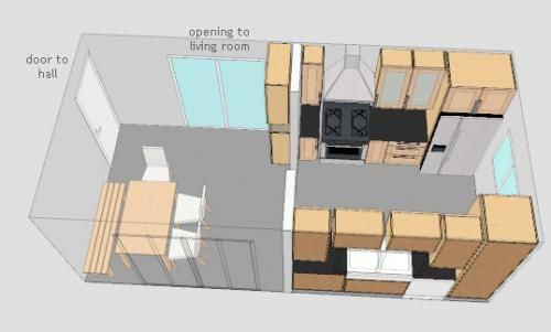 Image Detail for - Galley Kitchen Plans by techtlily
