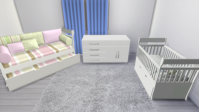 Sims 4 CC\'s - The Best: Toddler Bedroom Set by Lena sims 4 | Sims 4 ...