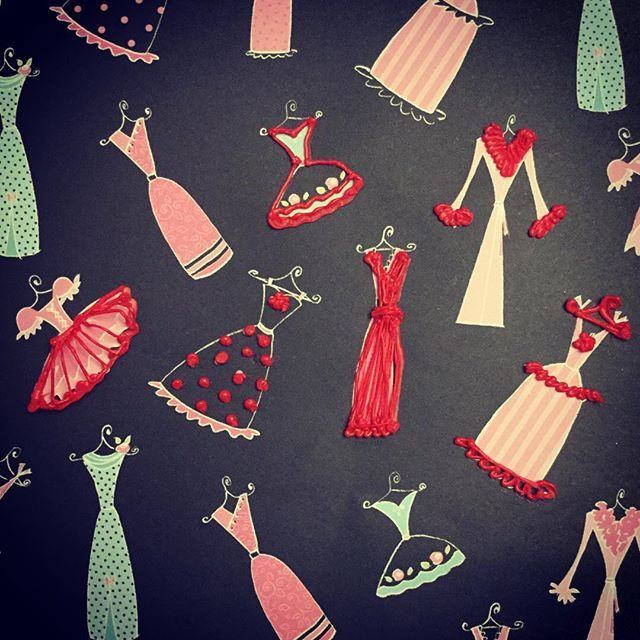 Just for fun! #Dresses #shopping #bridesmaids #skysthelimit #3dprintingpen