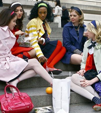 Your First Day of School, as Told in Gossip Girl GIFs #firstdayofschoolhairstyles