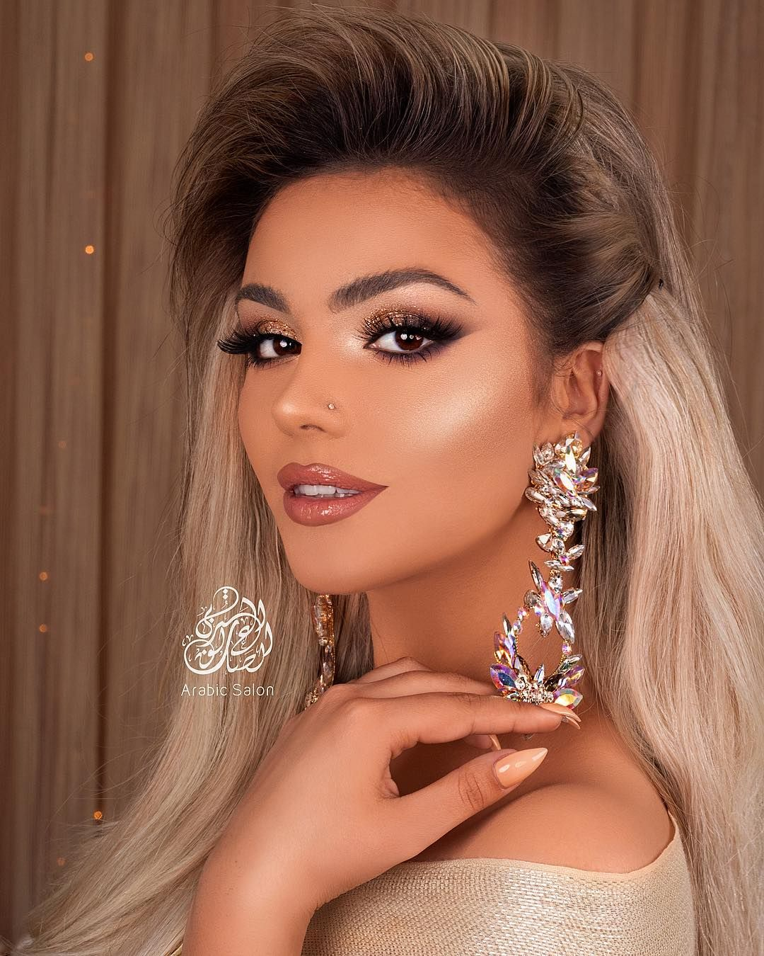 """Arabic Salon on Instagram """"To me, beauty and makeup and color is ..."""