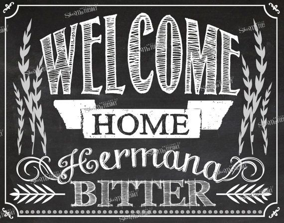 Chalkboard Missionary Homecoming Poster - Welcome Home Hermana Elder Sister Anciano