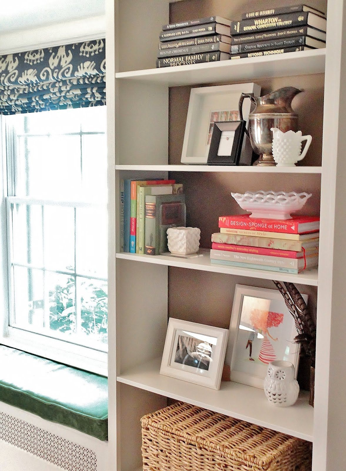 Window Seat Bookshelf Billy Built In With Windowseat Favorite Places Spaces Ikea