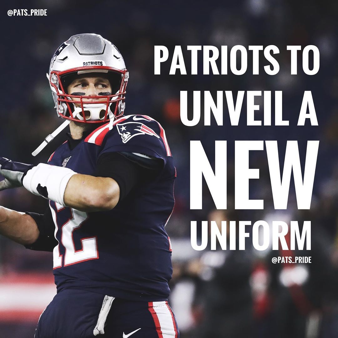 According To Nfl Insider Benjamin Allbright The Patriots Will Be Revealing A New Uniform This Offseason Red Throwbacks In 2020 Patriots Football Helmets Nfl Teams