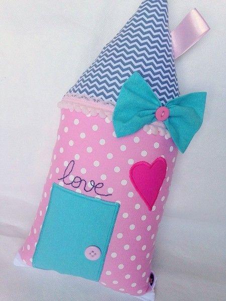 Kinderzimmer deko nähen  Almofadas casinhas | pillows | Pinterest | Deko nähen, Kissen und ...