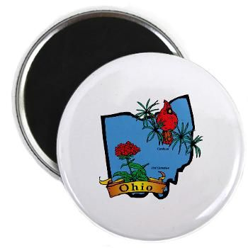 Ohio Map Magnet #Magnets #gifts