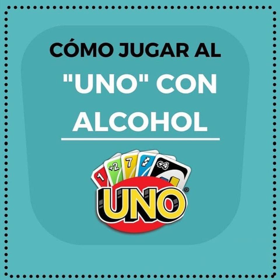 Cómo Jugar Al Uno Con Alcohol Juegos De Beber Juegos Para Beber Alcohol Juegos De Alcohol