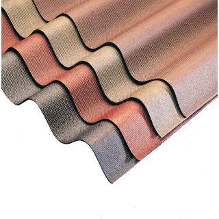 Ariel Coroline Corrugated Roofing Sheet Black 2m X 950mm Corrugated Roofing Plastic Roofing Roofing Sheets
