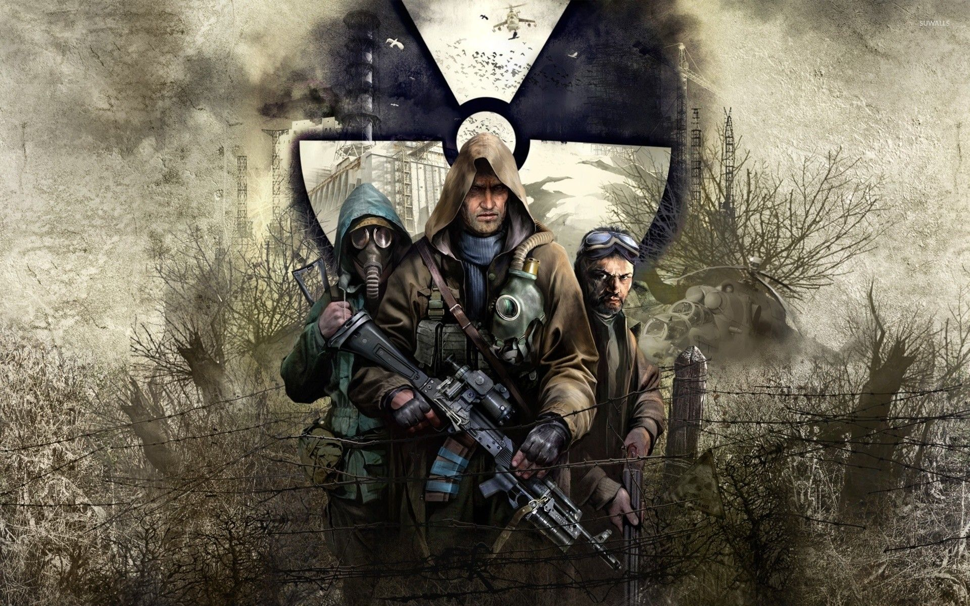 Stalker Shadow Of Chernobyl Pripryat Apocalyptic 43773 Walldevil