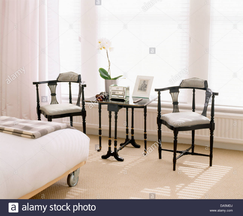bed with table in front - Google Search  Bedroom chair