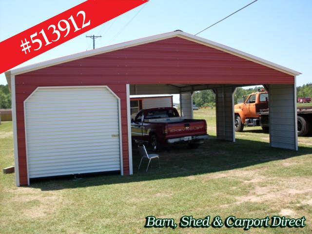 Storage Shed With Carport Shed Carpot Direct