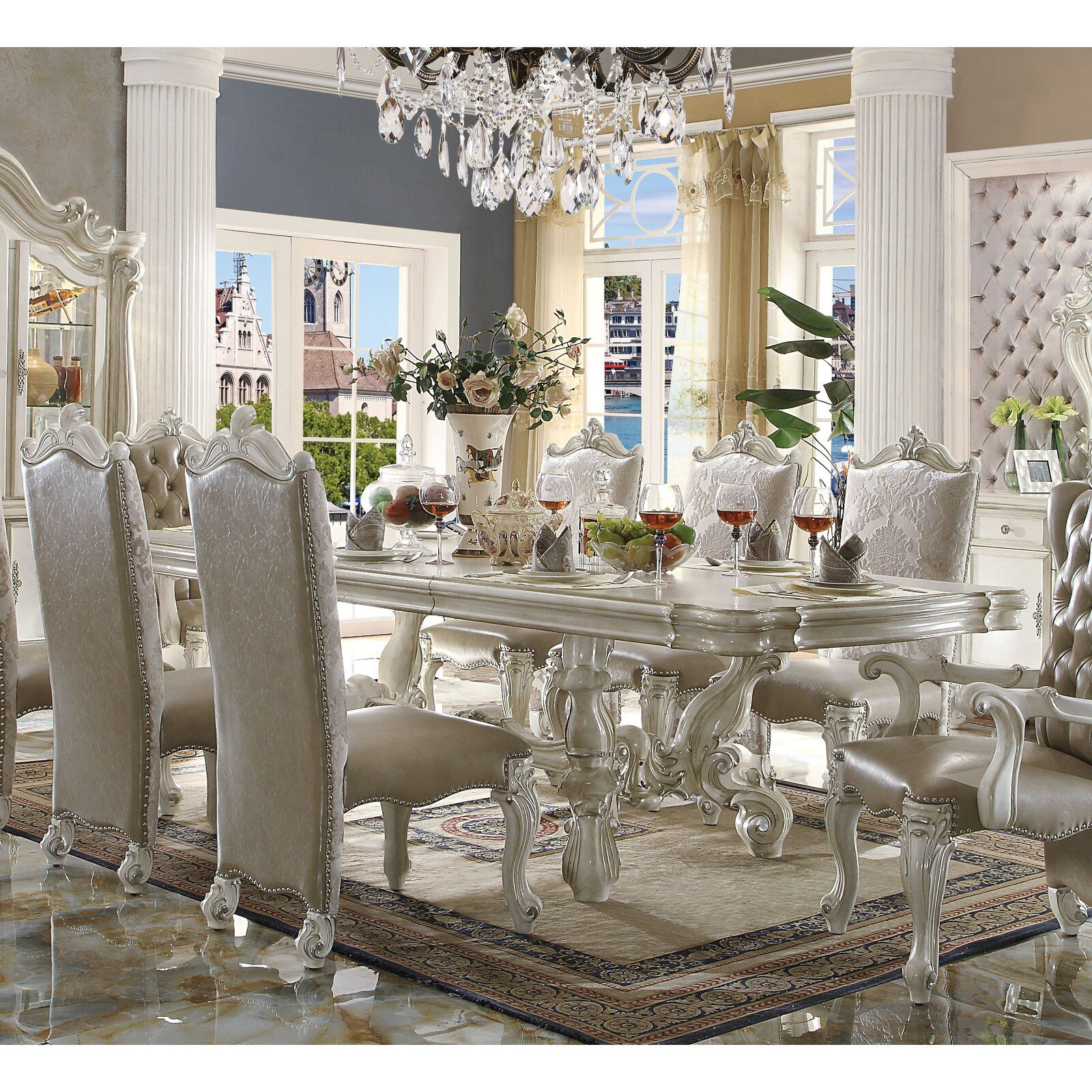 Astoria Grand Welton Extendable Dining Table Wayfair Formal Dining Room Sets Extendable Dining Table Formal Dining Tables