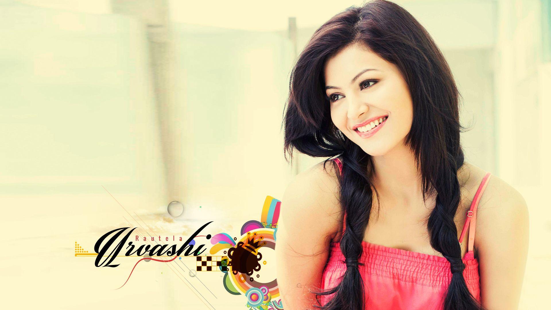 Urvashi Rautela Cute Smile Hd Wallpaper Urvashi Rautela