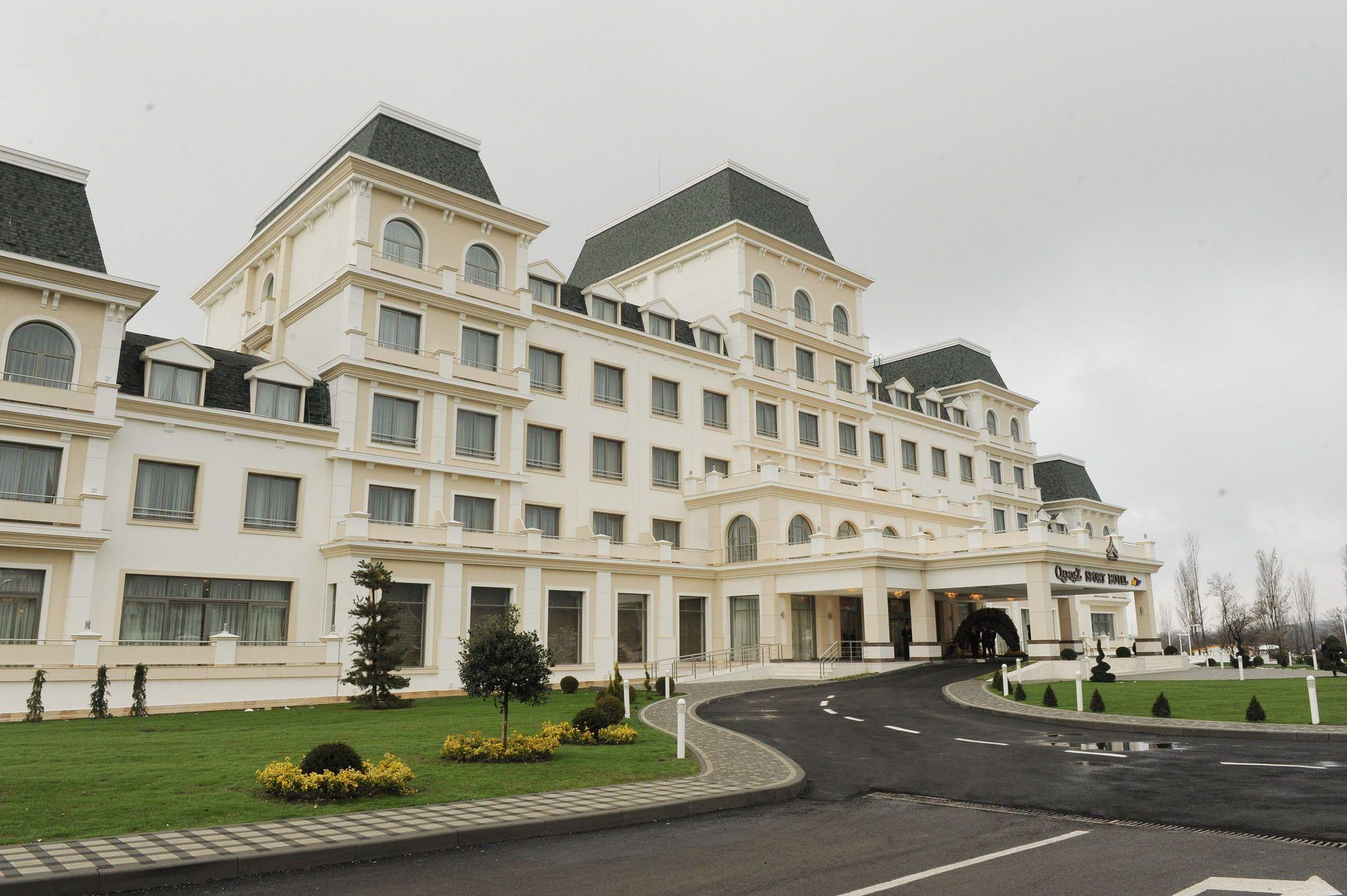 Qafqaz Riverside Hotel فندق قفقاز ريفرسايد Qafqaz Riverside Oteli Riverside Hotel Natural Scenery Hotel