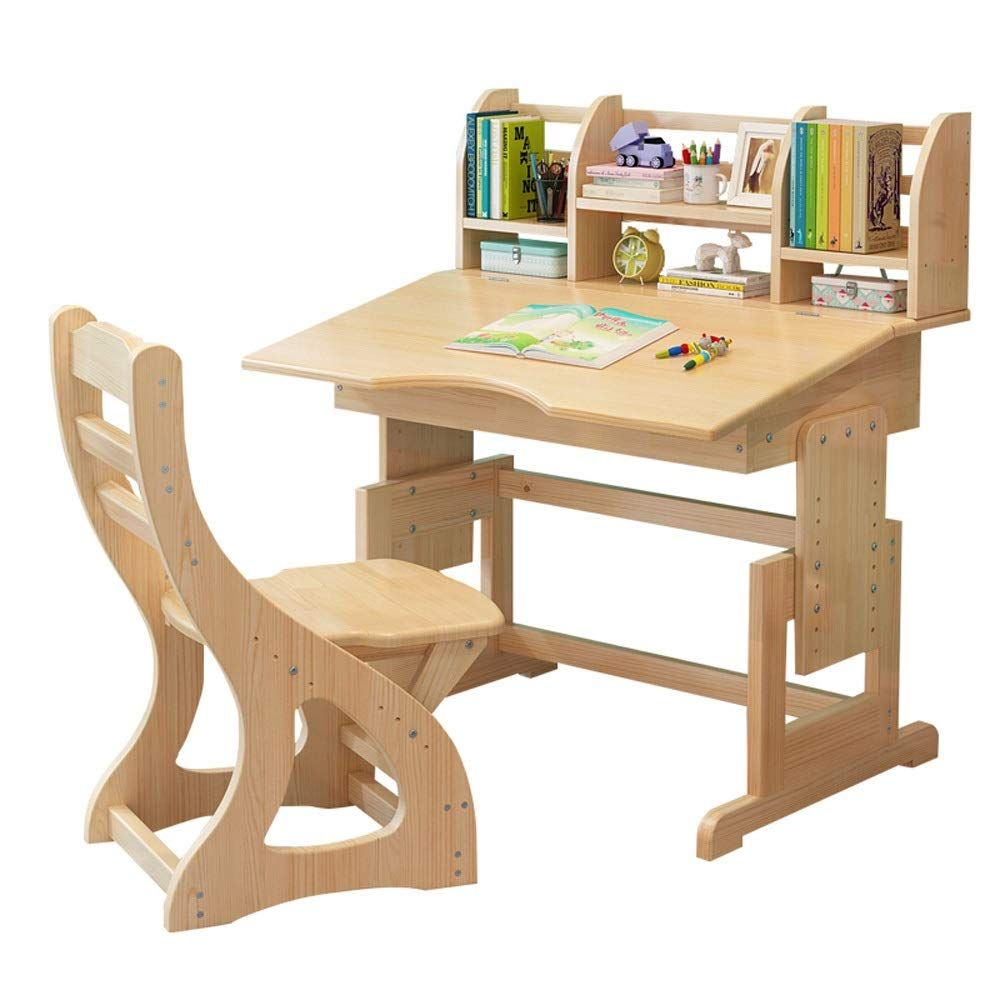 Bjzxz Kids Study Table With Book Stand Adjustable Children Study Table Bedroom School Children Workstation Promote In 2020 Kids Study Table Adjustable Desk Study Table