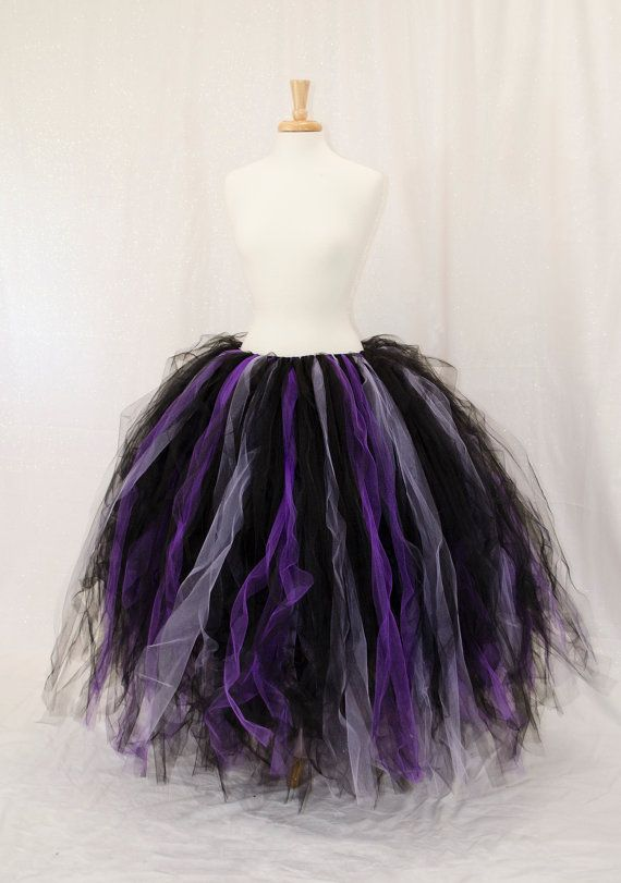 custom color long tutu skirt fairy costume by frecklesfairychest halloween. Black Bedroom Furniture Sets. Home Design Ideas