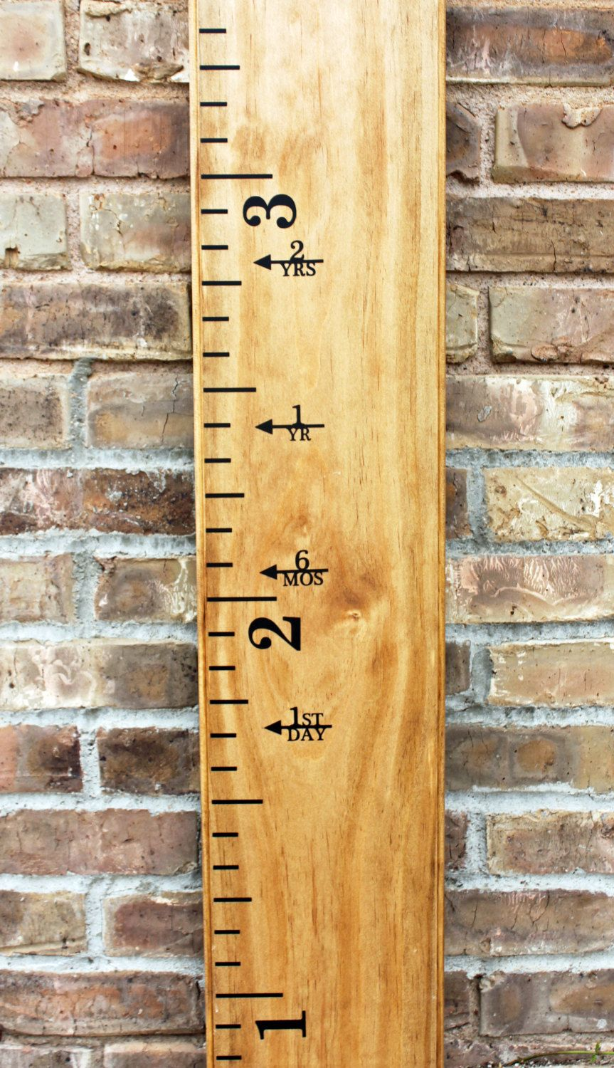 Vinyl Decal Height Markers For A Growth Chart Ruler Arrow With - Ruler growth chart vinyl decal