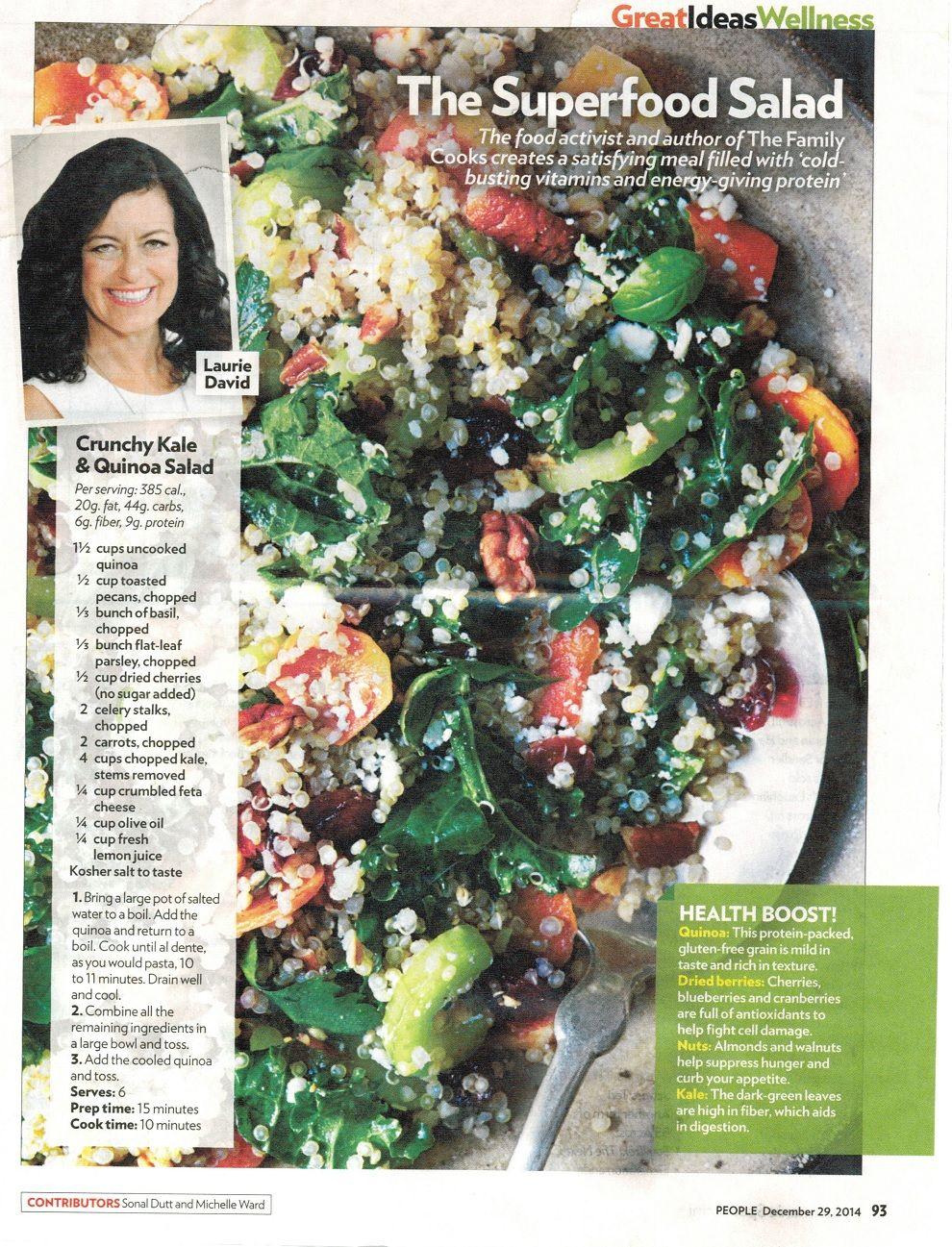 Kale & quinoa super salad