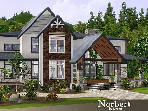 the sims 3 - house building - saddle stone | sims stuff