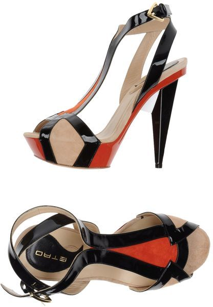 Etro Platform Sandals ★♥✤ | Keep the Glamour | BeStayBeautiful