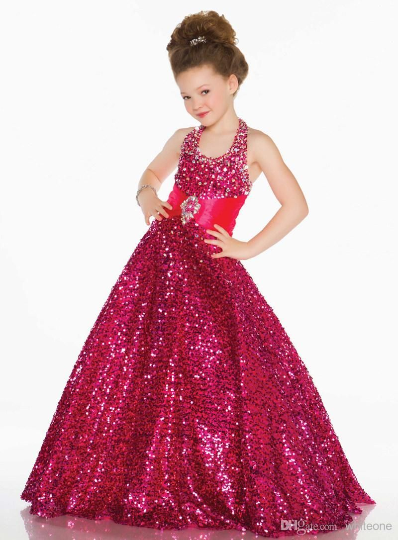 Why not glamorous pageant style dress can be pre ordered in a