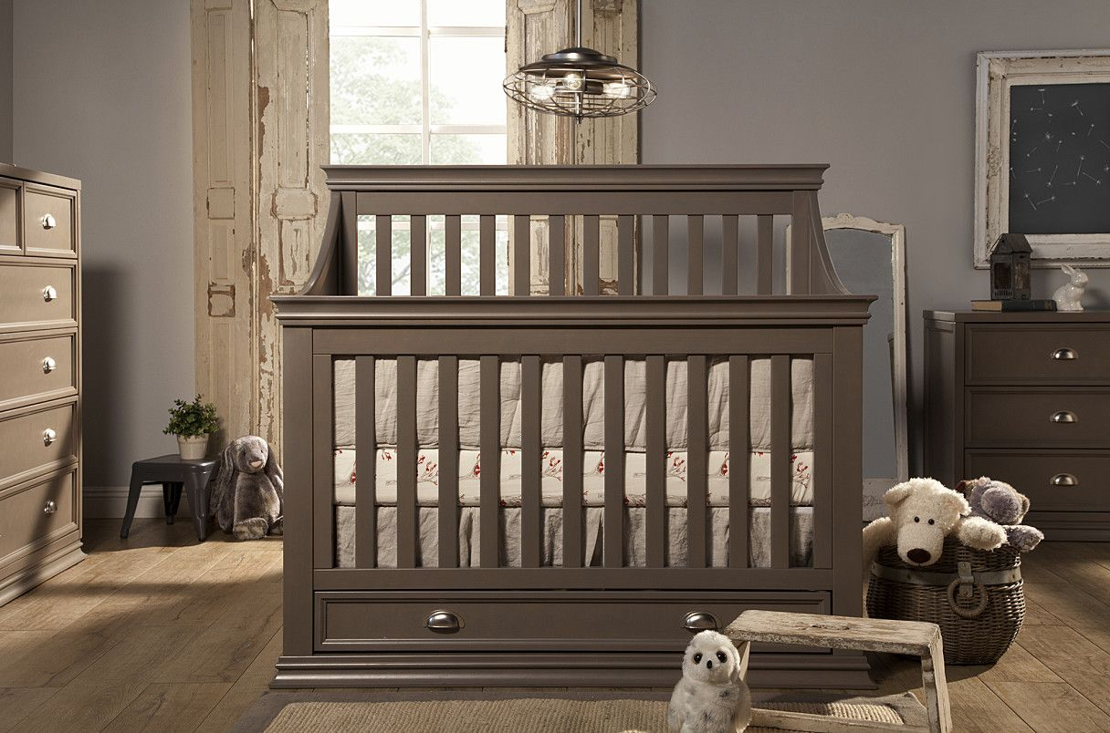Best Mason 4 In 1 Convertible Crib With Toddler Rail Franklin 640 x 480