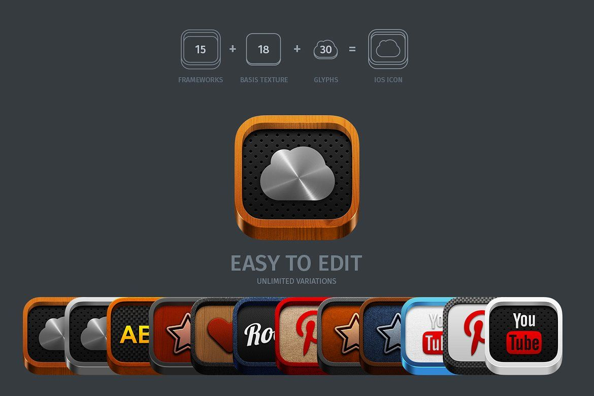 APP ICONS GENERATOR Vol.2 by TITO on creativemarket
